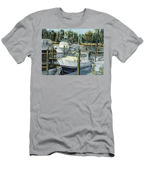 Quiet Marina Men's T-Shirt (Athletic Fit)