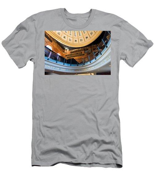 Quincy Market Vintage Signs Men's T-Shirt (Athletic Fit)