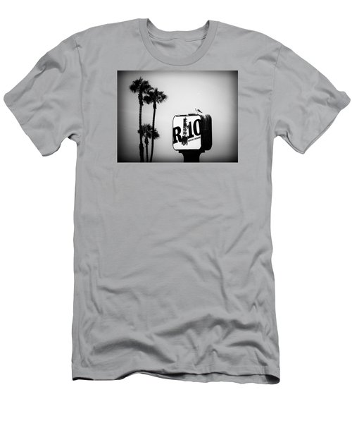 Men's T-Shirt (Athletic Fit) featuring the photograph R-10 Social House by Michael Hope
