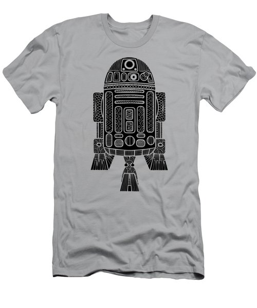 R2 D2 - Star Wars Art Men's T-Shirt (Athletic Fit)