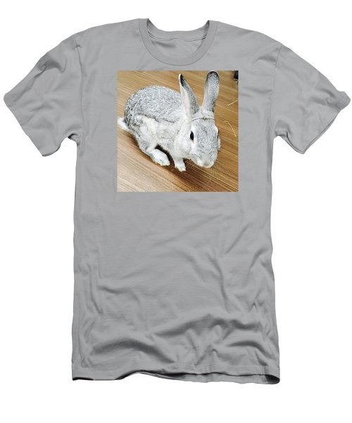 Rabbit Men's T-Shirt (Slim Fit) by Nao Yos