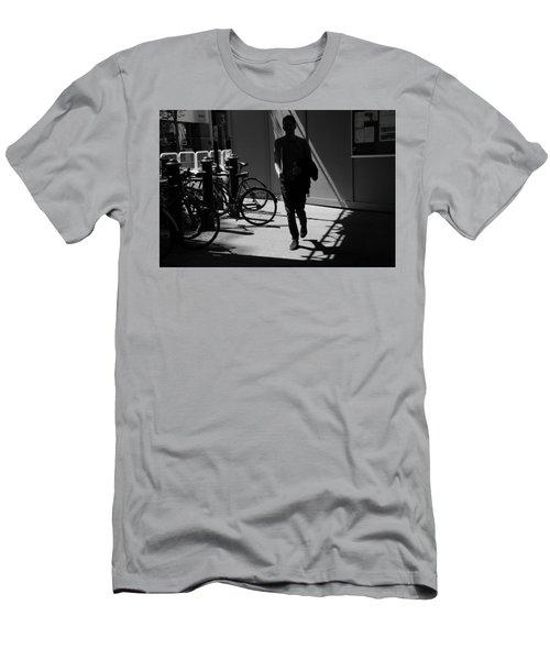 Racing Stripes Men's T-Shirt (Athletic Fit)