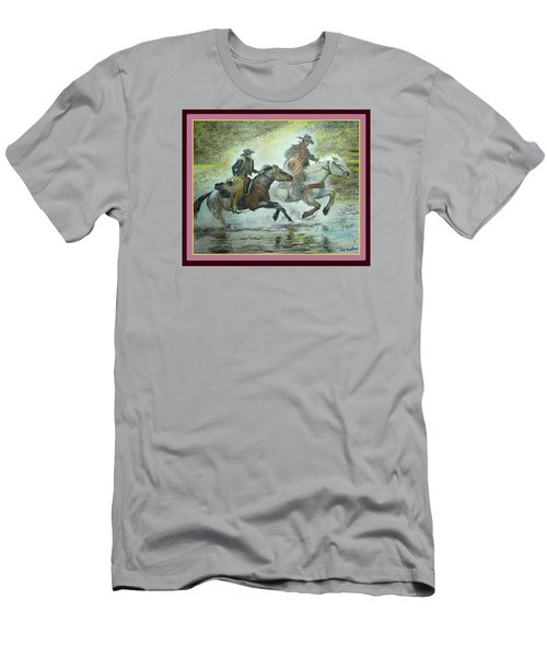 Racing Through The Water Men's T-Shirt (Athletic Fit)