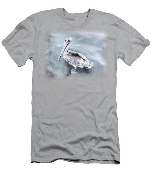 Radiant Pelican Men's T-Shirt (Athletic Fit)