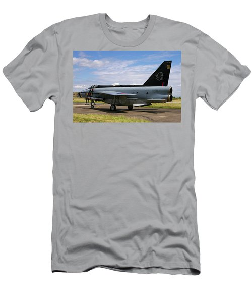 Raf English Electric Lightning F6 Men's T-Shirt (Athletic Fit)