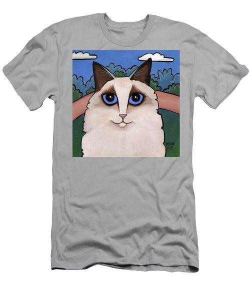 Ragdoll Cat Men's T-Shirt (Athletic Fit)