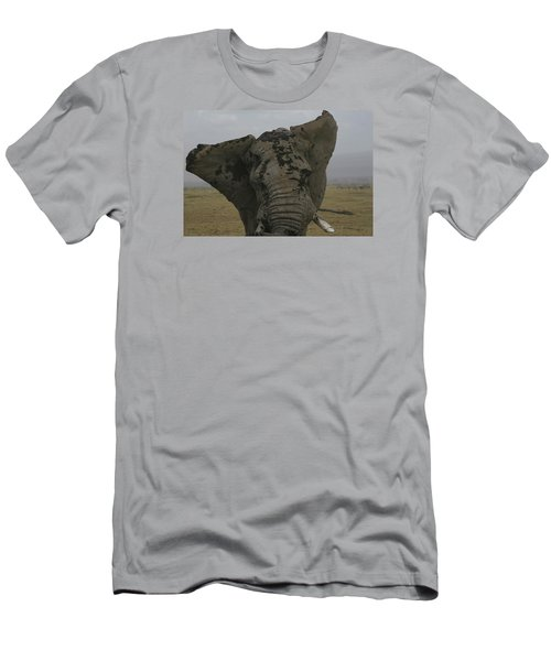 Men's T-Shirt (Slim Fit) featuring the photograph Raging Bull by Gary Hall