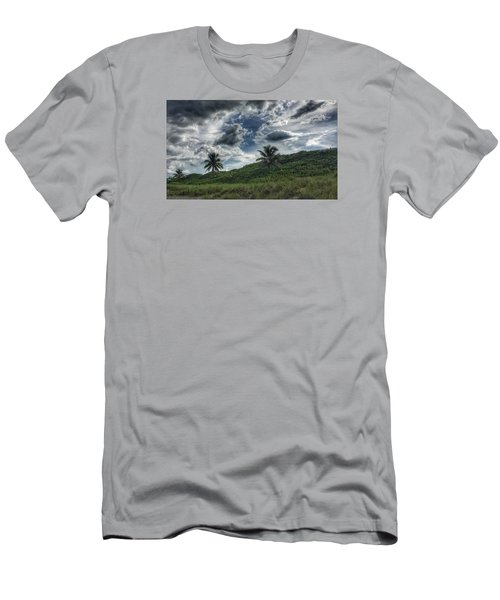 Rain Clouds Men's T-Shirt (Slim Fit)