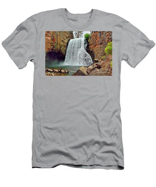 Rainbow Falls 10 Men's T-Shirt (Athletic Fit)