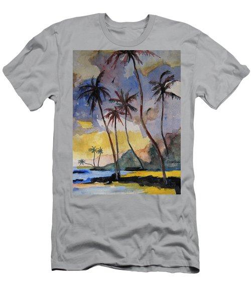 Rainbows Men's T-Shirt (Slim Fit) by Ray Agius