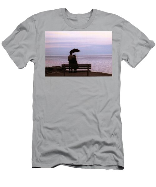 Men's T-Shirt (Slim Fit) featuring the photograph Rainy-may In Color by John Scates