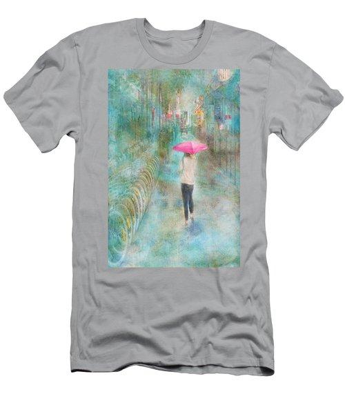 Rainy In Paris 3 Men's T-Shirt (Athletic Fit)