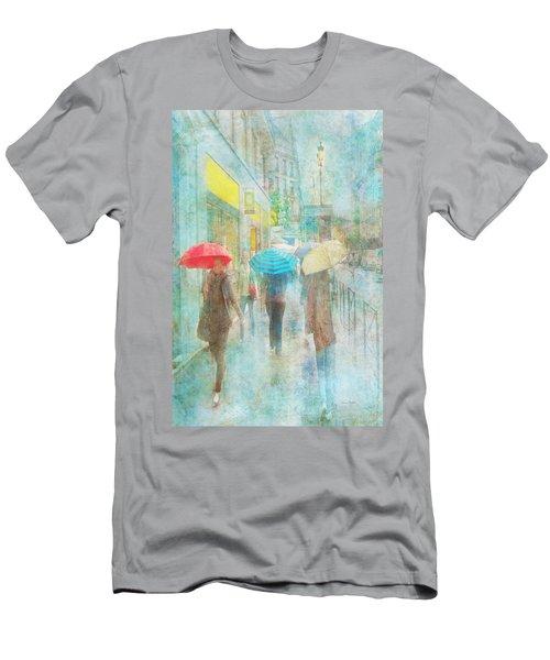 Rainy In Paris 5 Men's T-Shirt (Athletic Fit)