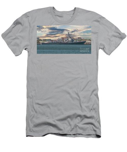 Ralph H Johnson Navy Warship Men's T-Shirt (Athletic Fit)