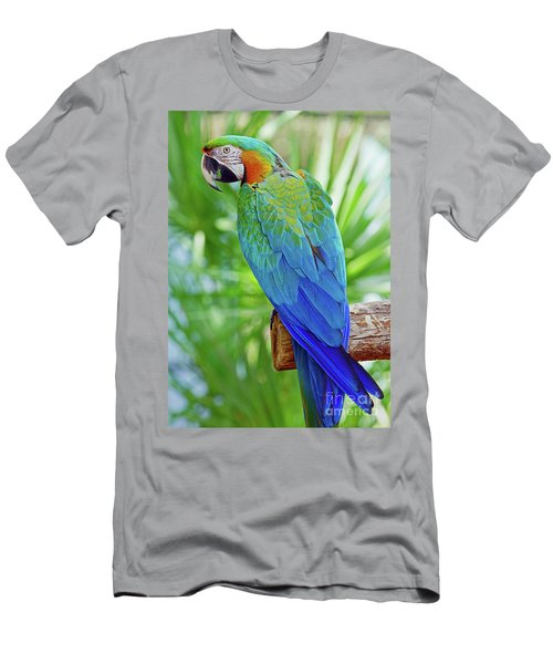 Rapsody In Blue Men's T-Shirt (Athletic Fit)