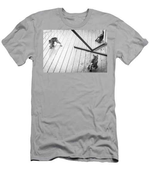 Men's T-Shirt (Athletic Fit) featuring the photograph Triple Threat by Tim Newton
