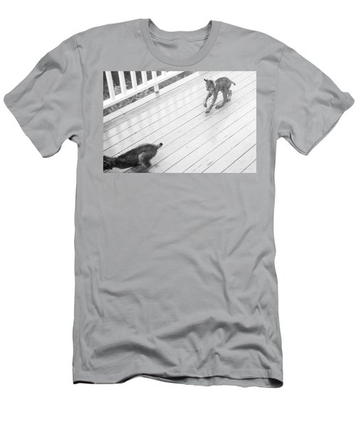 Men's T-Shirt (Athletic Fit) featuring the photograph Long Legs Big Feet by Tim Newton