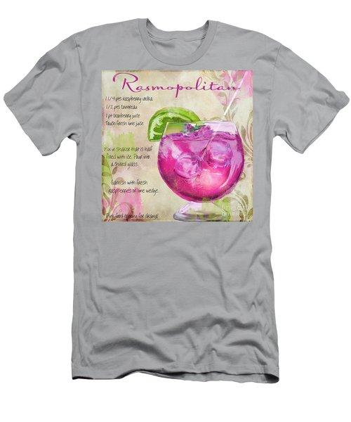 Rasmopolitan Mixed Cocktail Recipe Sign Men's T-Shirt (Athletic Fit)