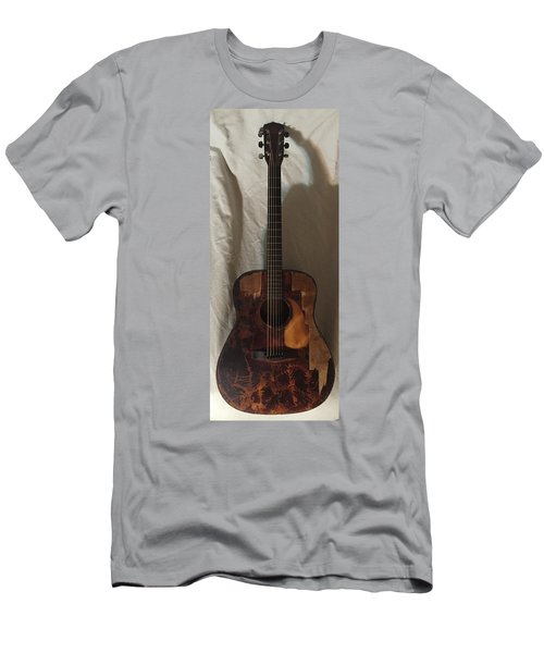 Rat Guitar 2 Front Men's T-Shirt (Athletic Fit)