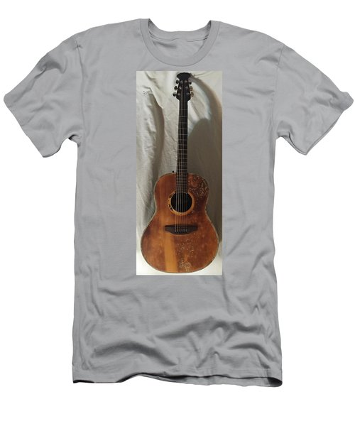Rat Guitar Men's T-Shirt (Slim Fit) by Steve  Hester
