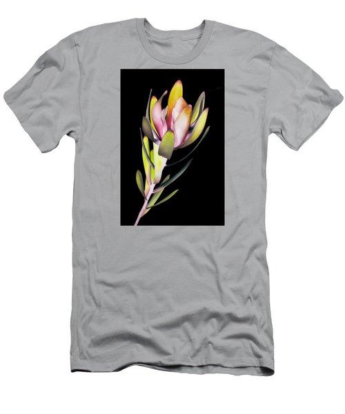 Men's T-Shirt (Slim Fit) featuring the photograph Reach by John Hansen