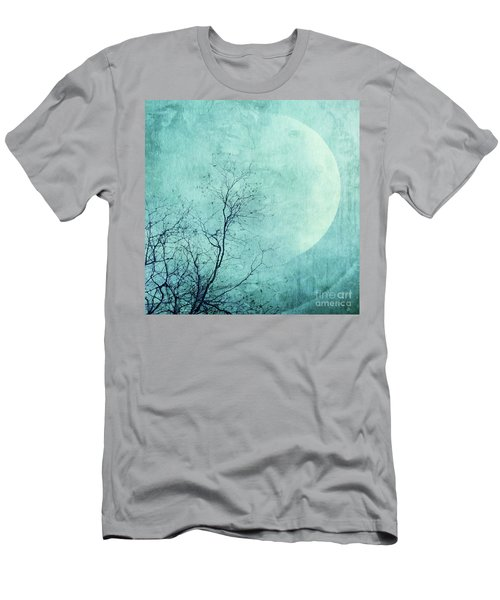 Reach For The Moon Men's T-Shirt (Athletic Fit)
