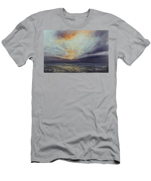 Reaching Higher Men's T-Shirt (Slim Fit) by Valerie Travers