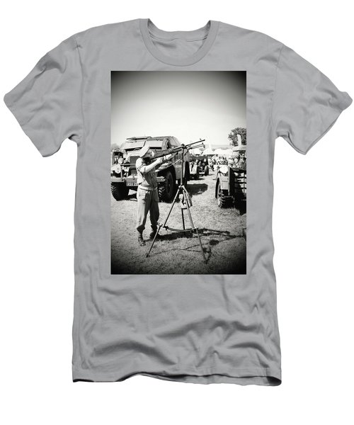 Men's T-Shirt (Athletic Fit) featuring the photograph Ready Aim Fire by JLowPhotos