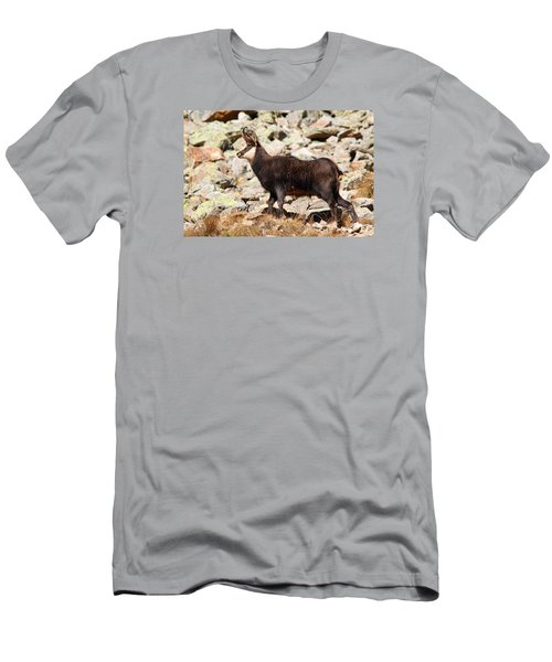 Men's T-Shirt (Slim Fit) featuring the photograph Ready For The Challenge by Richard Patmore