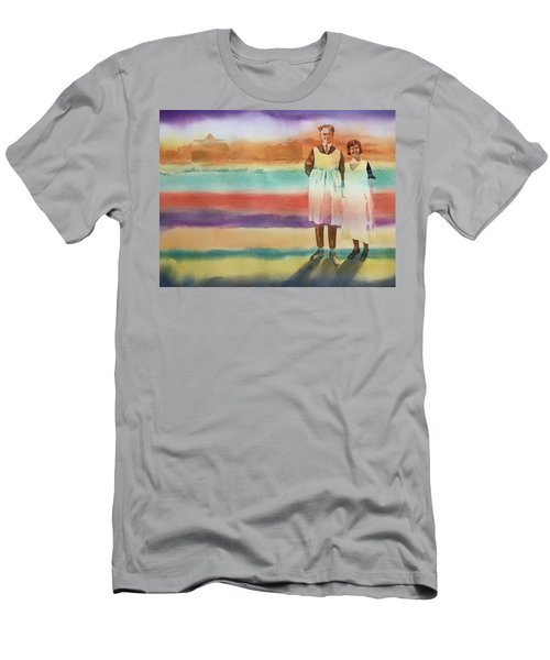 Real Men Wear Aprons Men's T-Shirt (Athletic Fit)