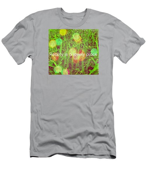 Reality Men's T-Shirt (Slim Fit) by Artists With Autism Inc
