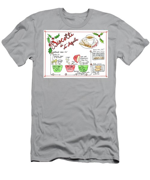 Recipe Biscotti Men's T-Shirt (Athletic Fit)