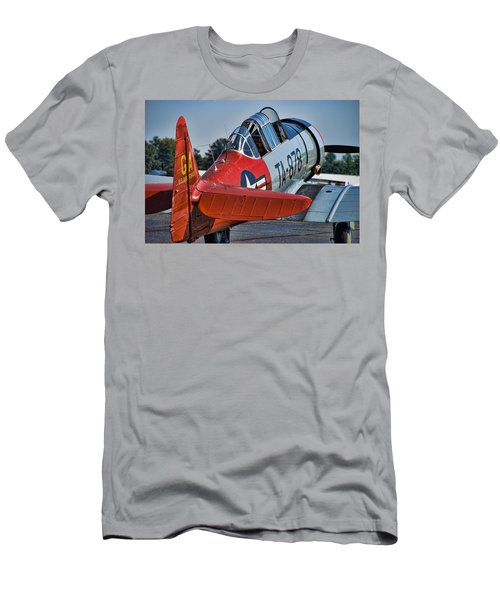 Red At-6 Men's T-Shirt (Athletic Fit)