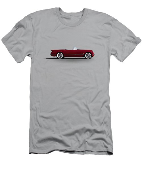 Red C1 Convertible Men's T-Shirt (Slim Fit) by Douglas Pittman