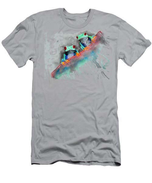 Red Eyed Tree Frogs Men's T-Shirt (Athletic Fit)