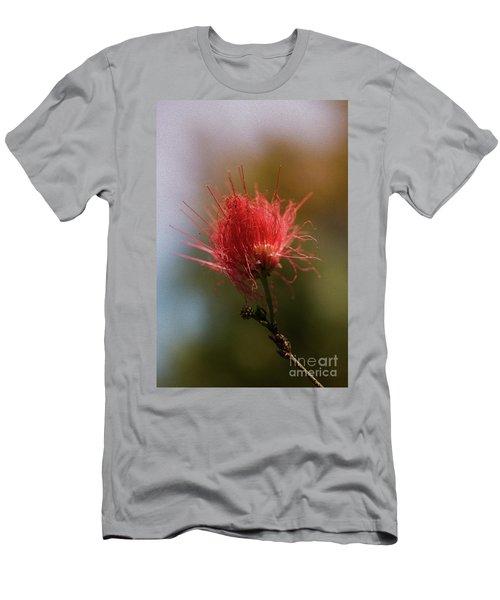Red Flower Men's T-Shirt (Athletic Fit)