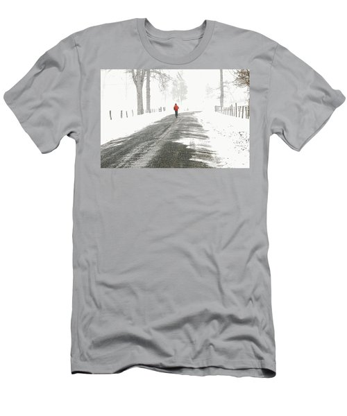 Red -  Men's T-Shirt (Athletic Fit)