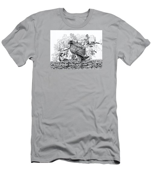 Red Tailed Huntress Men's T-Shirt (Athletic Fit)