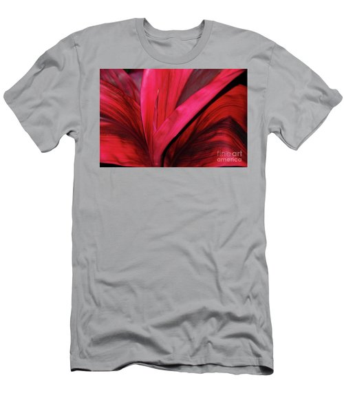 Red Ti Leaf Plant - Hawaii Men's T-Shirt (Athletic Fit)