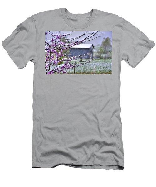 Redbud Winter Men's T-Shirt (Athletic Fit)