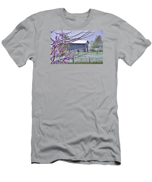 Redbud Winter Men's T-Shirt (Athletic Fit)