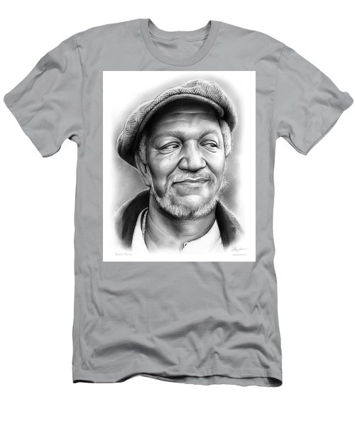 Redd Foxx Men's T-Shirt (Slim Fit) by Greg Joens