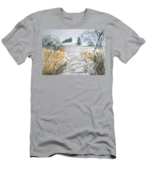 Reeds On The Riverbank No.2 Men's T-Shirt (Athletic Fit)