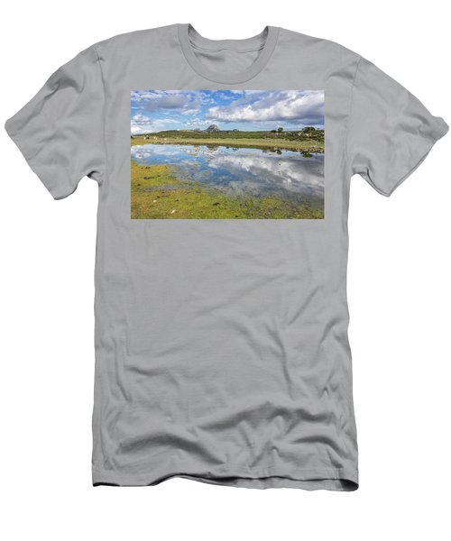 Reflected Mountains Men's T-Shirt (Athletic Fit)