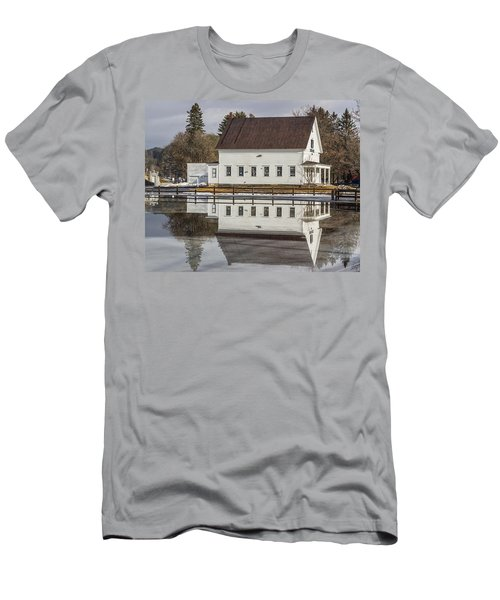 Reflected Town House Men's T-Shirt (Athletic Fit)