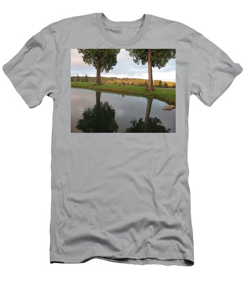 Reflections #183 Men's T-Shirt (Slim Fit) by Barbara Tristan