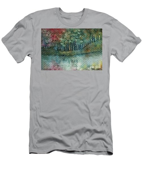 Reflections Along The Water Men's T-Shirt (Athletic Fit)