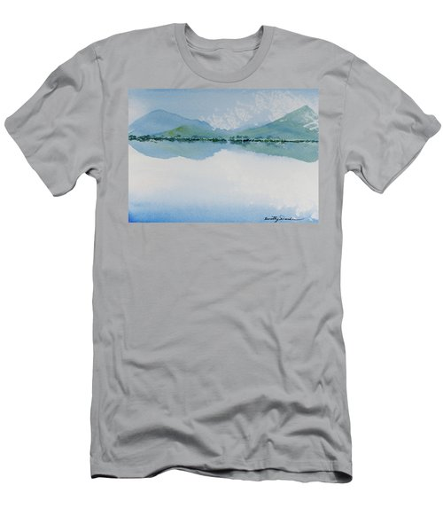 Reflections Of The Skies And Mountains Surrounding Bathurst Harbour Men's T-Shirt (Athletic Fit)