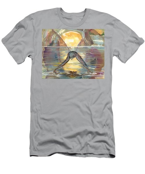 Reflections Swallowed Men's T-Shirt (Athletic Fit)