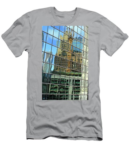 Reflective Chicago Men's T-Shirt (Athletic Fit)